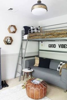 room makeover boys Tour this gorgeous modern farmhouse full character and charm with plenty of natural wood elements, rustic decor and light, bright rooms Boys Bedroom Decor, Farmhouse Bedroom Decor, Bedroom Loft, Boys Bedroom Ideas Tween, Master Bedroom, Boy Bedrooms, Trendy Bedroom, Budget Bedroom, Bedroom Storage