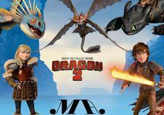 Bí Kíp Luyện Rồng 2 - Làm Thế Nào Để Huấn Luyện Rồng Con 2 - How To Train Your Dragon 2