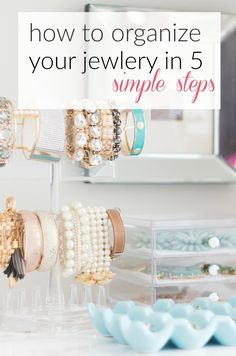 Jewelry Organization - A Thoughtful Place
