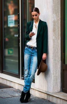 Alana Zimmer during Milan Fashion Week, Spring 2013 Fashion Week, Look Fashion, Womens Fashion, Fashion Blogs, Milan Fashion, Fashion Photo, Street Fashion, Fall Fashion, Street Style Chic