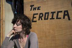 Emily Reidel on her dredge The Eroica on Bering Sea Gold