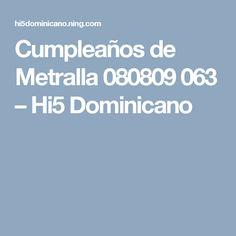 Cumpleaños de Metralla 080809 063 – Hi5 Dominicano