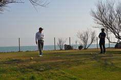 Golf Put front Sea