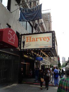 """Studio 54 - Jim Parsons in """"Harvey"""" #BlogHer12"""