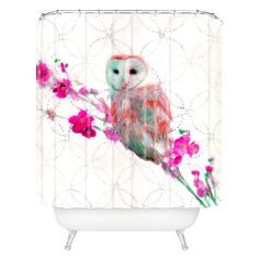 DENY Designs Quinceowl Shower Curtain Target