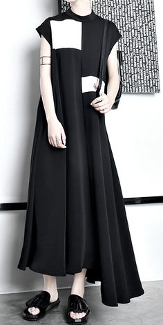a5c3bd13115 Dress Black Draped Asymmetric £55.00 One Size Dress Black