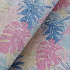 Portuguese Cork Fabric, Leather and Bag making supplies by frameyourbag Cork Fabric, Tropical Pattern, Portuguese, Bag Making, 50th, Craft Projects, Etsy Seller, Textiles, Make It Yourself