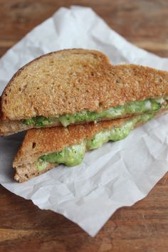 Broccoli Grilled Cheese Sandwich {Toddler Approved}