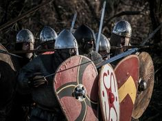 Norman shield wall