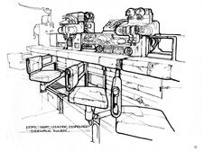 Read the Out-of-Print 'Blade Runner Sketchbook' by Syd Mead and Ridley Scott Blade Runner, Sketchbook Online, Syd Mead, Ridley Scott, Industrial Design Sketch, Illustrations, Drawing Sketches, Sketching, Drawings