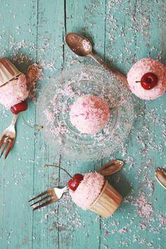 Törtchen backen Cupcakes Rezept einfach