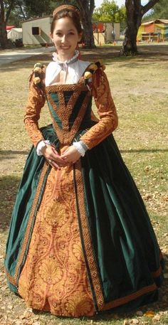 """Elizabethan gown"" - Tudor Costume"