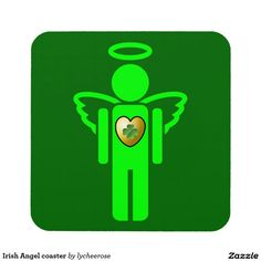 Irish Angel coaster