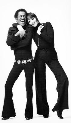 Liza Minnelli and Sammy Davis Jr. 1976, Miami, The Diplomat - By Milton H Greene