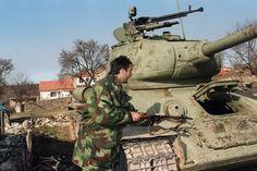 Serbian T-34 Tank