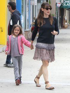 Jennifer Garner & Seraphina: Mommy & Me