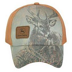 6ea0a9bc2f790 John Deere Sublimated Deer Cap