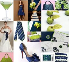 Navy and Green theme?