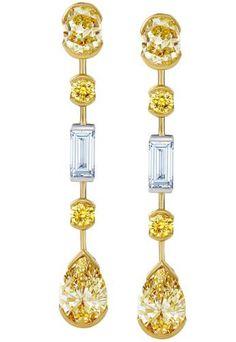 De-Beers-Swan-Lake-collection-yellow-diamond-earrings.