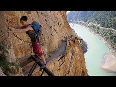 El Camino Del Rey - King's pathway in El Chorro - End of Way - YouTube