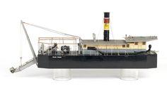 Prince Farouk (1930); Service vessel; Suction dredger - National Maritime Museum