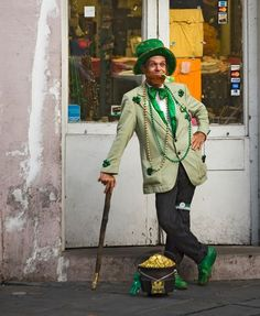 St. Patrick's Day is just around the corner.  Last year's Natl. Geographic article-pretty interesting!