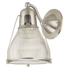 "Barn Light Electric | 8"" Hamburg Wall Sconce, Satin Nickel 