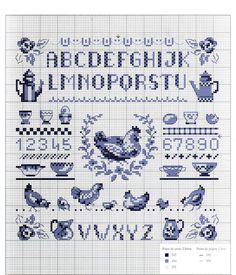 Gallery.ru / Фото #9 - Abecedaires au point de croix - Enginger - patrizia61                                                                                                                                                                                 Plus