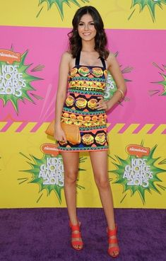 Victoria Justice Nickelodeons 26th Kids Choice Awards..USCs Galen Center, Los Angeles, CA..March 23, 2013..Job: 130323A1..(Photo by Axelle Woussen)..Pictured: Victoria Justice..
