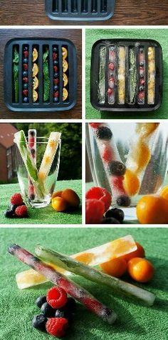 #ice#fruits