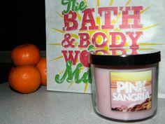 A beautiful #FragranceFan picture of our Pink Sangria Candle! <3