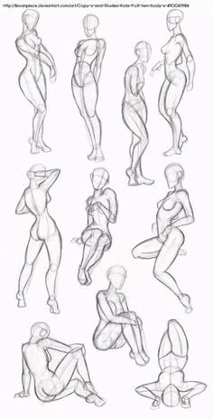 Female Body Drawing - Female Human Body Drawing to drawing poses Body Sketches, Drawing Sketches, Art Drawings, Sketching, Simple Drawings, Sketch Art, Drawing Art, Cartoon Drawings, Drawing Techniques