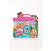 Barbie Puppies Adventure Playset - Pink House