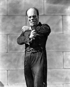 """Lon Chaney en """"El fantasma de la ópera"""", 1925"""