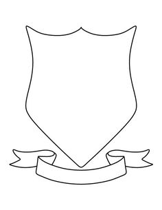 Coat Of Arms Template Pdf coat of arms pattern. use the printable outline for cr. Coat Of Arms Tem Outline, Shield Template, American Heritage Girls, Family Crest, Coat Of Arms, Girl Scouts, Art Lessons, Coloring Pages, Creations