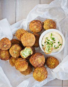 Kombinace sýra, brokolice a česneku dodá křupavým kuličkám dokonalou chuť; Greta Blumajerová