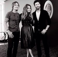 Keith Urban, Jennifer Lopez & Harry Connick Jnr