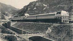 Antigua estación de Canfranc.