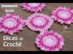 Dicas de Crochê - Barradinhos / Bicos em crochê - Professora Simone