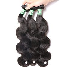 Msbeauty Peruvian Hair 3 Bundles Body Wave Virgin Human Hair Bundles 10 12 14 inch Natural Color Tanglefree >>> Click image for more details. (This is an affiliate link) Curly Human Hair Extensions, Bun Hair Piece, Brazilian Body Wave, Body Wave Hair, Peruvian Hair, Hair Oil, Weave Hairstyles, Color, Link