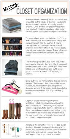 Closet Organization| Penny Pincher Fashion