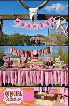Horse Birthday Parties, Birthday Bbq, Birthday Party Themes, Birthday Ideas, Birthday Gifts, Cowgirl Party, Cowgirl Birthday, Pony Party, Horse Party Decorations
