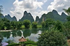 Yangshuo Mountain Retreat - Yanshuo, China - By far the most memorable hotel stay ever.  Definitely lives up to its name - retreat. Nothing like waking up to a beautiful view of the river, pointed mountains, and a made to order breakfast with no set agenda.