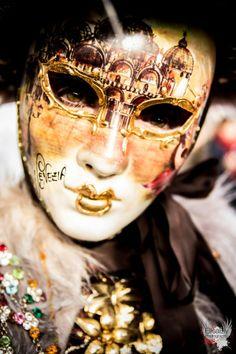 Venetian mask 2013 by Elisa Ely