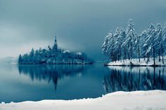 The Cool Beauty Of Lake Bled, Slovenia. www.dailytravelideas.com