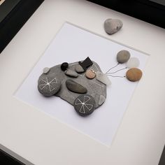 Wedding pebble art frame, Bride and groom pebble art, Wedding gift, Pebble Art, Pebble picture, Personalised wedding gift, Mr and Mrs frame, Anselmo Pebble Art