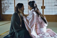 Kai and Mika steal a moment alone in 47 Ronin.....the greatest thing you'll ever know is just to love and be loved in return....