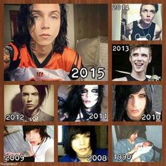 Andy Biersack<><> And I will like him and love his music no matter what 2016 brings him to look like.
