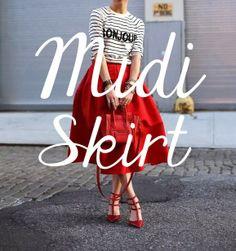 Coming next: Midi weekend. #spring #weekend #march #midi #fashion