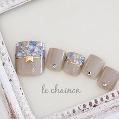 You don't need to choose the same nail art patterns over and over again. Pedicure Designs, Pedicure Nail Art, Toe Nail Designs, Toe Nail Art, Pretty Toe Nails, Cute Toe Nails, Love Nails, Japan Nail Art, Feet Nail Design